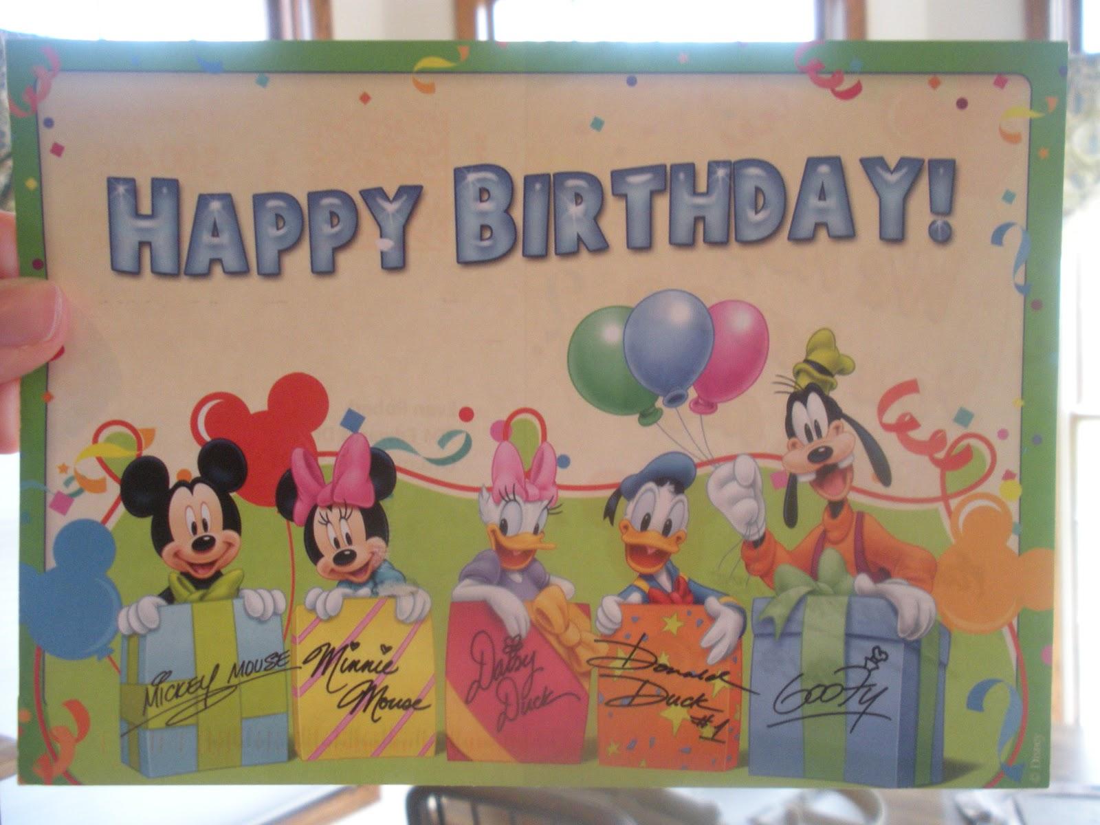 Did You Know Disney Birth Announcement Greetings Diz Scoop